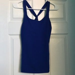 Forever 21 royal blue tank top, size M